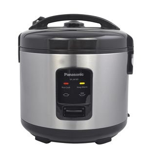 Panasonic 10 Cup (uncooked) Automatic Rice Cooker - Stainless Steel / Black