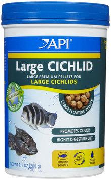 API Cichlid Lg Pellet - 7.1 oz