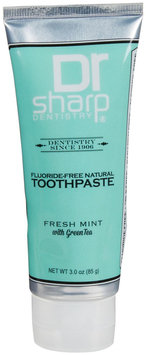 Dr Sharp Dentistry Dr. Sharp Dentistry - Natural Toothpaste Fluoride-Free Fresh Mint With Green Tea - 3 oz.