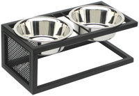 Petsstop Cantilever Double Elevated Dog Bowl - Extra Large