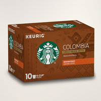 STARBUCKS® Colombia Balanced & Nutty K-Cup® Pods