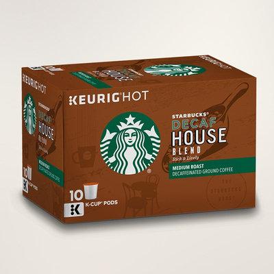 STARBUCKS® Decaf House Blend Rich & Lively K-Cup® Pods