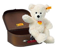 Steiff Lotte Teddy Bear In Suitcase - White