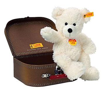 Steiff Lotte Teddy Bear In Suitcase - White