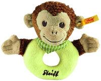 Steiff Jocko Monkey Grip Toy - Brown/Beige/Green - 1 ct.