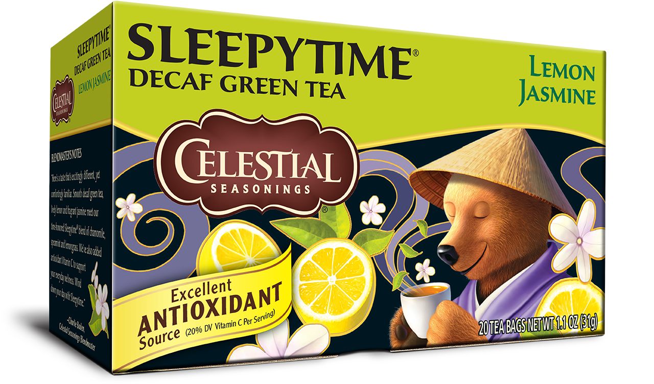 Celestial Seasonings® Sleepy Time Decaf Tea Lemon Jasmine