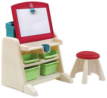 Step 2 Flip & Doodle Easel Desk with Stool