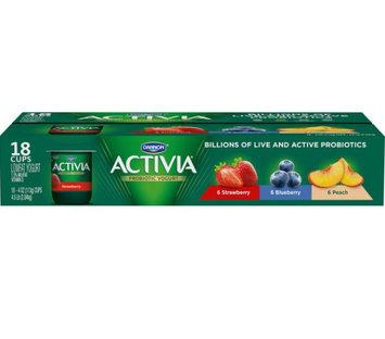 Activia® Strawberry Blueberry Peach Probiotic Yogurt