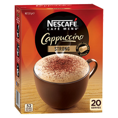 NESCAFÉ  Café Menu Cappuccino Strong
