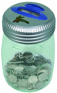 Zillionz Counting Money Jar - 1 ct.
