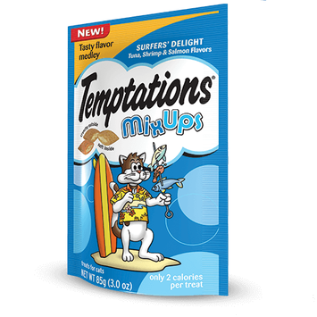 TEMPTATIONS™ MixUps Treats For Cats Surfer's Delight Cat Treats