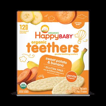 Happy Baby® Organics Teethers Sweet Potato & Banana