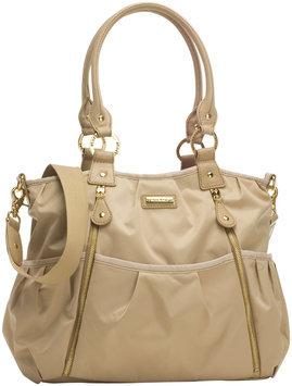 Stork Sak Storksak Olivia Diaper Bag (Champagne)