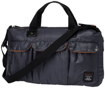 Babymel Soho Messenger Bag in Grey