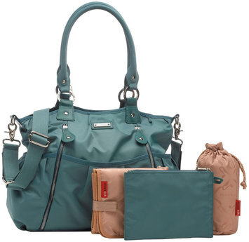 Storksak Olivia Diaper Bag in Teal