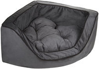 O'donnell Industries Odonnell Industries 23072 Snoozer Luxury Small Corner Pet Bed - Anthracite-Black