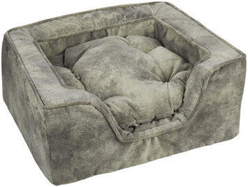 Snoozer Luxury Microsuede Square Dog Bed Chaparral, Size: X-Large
