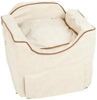 Dog Houses Luxury Lookout II Dog Car Seat - Small/Buckskin/Java