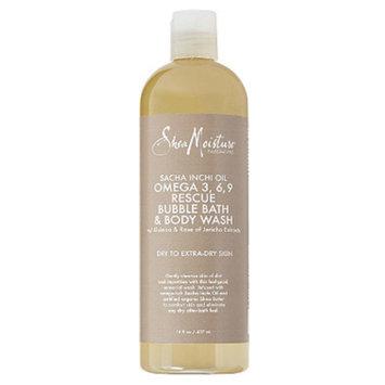 SheaMoisture Sacha Inchi Oil Omega-3-6-9 Rescue Bubble Bath & Body Wash