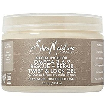 SheaMoisture Sacha Inchi Oil Omega-3-6-9 Rescue + Repair Curl Defining Smoothie