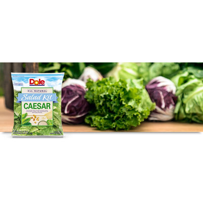 Dole All Natural Caesar Salad Kit