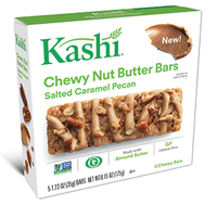 Kashi® Salted Caramel Pecan Chewy Nut Butter Bars