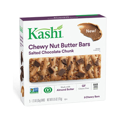 Kashi® Salted Chocolate Chunk Chewy Nut Butter Bars