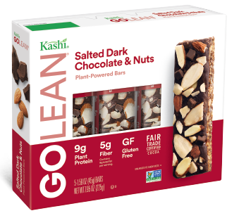 Kashi® GOLEAN Salted Dark Chocolate & Nuts Plant-Powered Bar