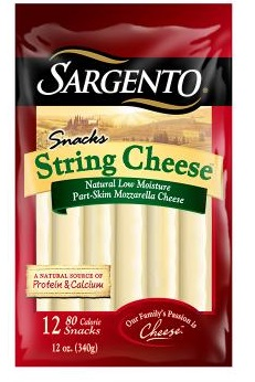 Sargento® Natural String Cheese Snacks