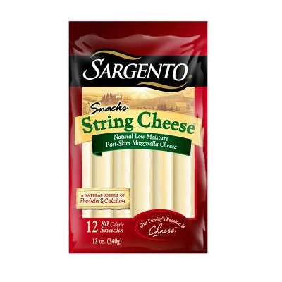Sargento® Natural String Cheese Snacks