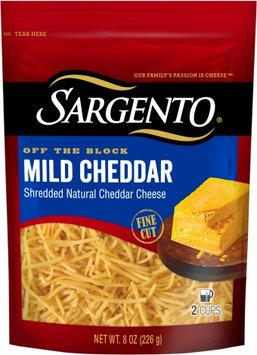 Sargento® Shredded Mild Cheddar Cheese - Traditional Cut
