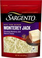 Sargento® Shredded Monterey Jack Cheese