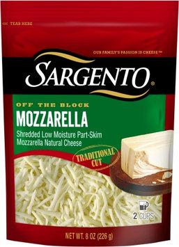 Sargento® Shredded Mozzarella - Traditional Cut