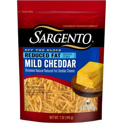 Sargento® Shredded Reduced Fat Mild Cheddar Cheese