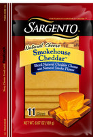 Sargento® Sliced Smokehouse Cheddar™ Cheese
