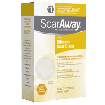 ScarAway® Silicone Daily Discs