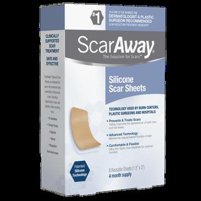 ScarAway® Silicone Scar Sheets