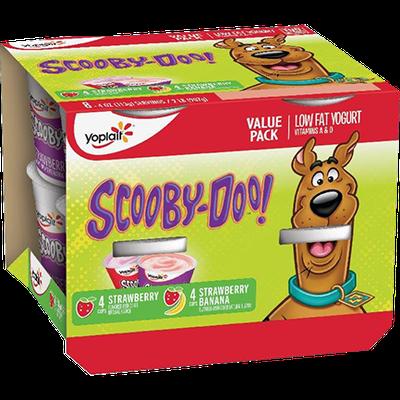 Yoplait® Kids Scooby-Doo Strawberry Banana & Strawberry Yogurt