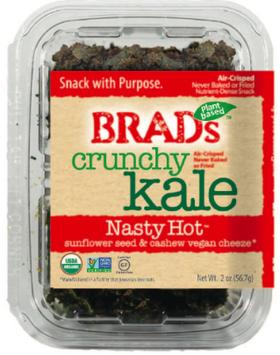 Brad's Raw Crunchy Kale Nasty Hot
