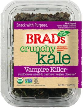 Brad's Raw Crunchy Kale Vampire Killer