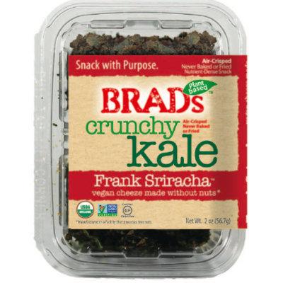 Brad's Raw Crunchy Kale Frank Sriracha