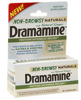 Dramamine® Non-Drowsy Naturals Motion Sickness Relief Capsules