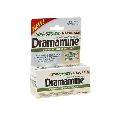 NEW Dramamine® Non-Drowsy Naturals