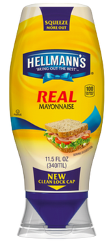 Hellmann's Real Squeeze Mayonnaise