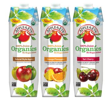 Apple & Eve Organics 1L