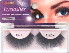 Gabriella Eyelashes Strip 100% Handmade Synthetic Hair