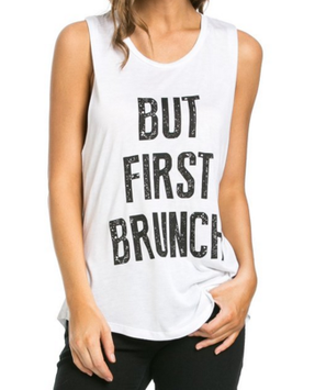 Soho Glam Brunch First Muscle Tank Top