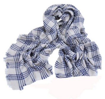 MaxMaxi Fashion Autumn&Winter England Plaid Scarf Tassels Pashmina Shawl
