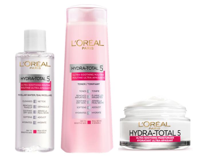 L'Oréal Paris Hydra-Total 5 Ultra-Soothing Ritual