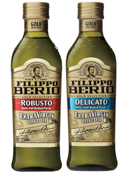 Filippo Berio® Robusto and Delicato Extra Virgin Olive Oil